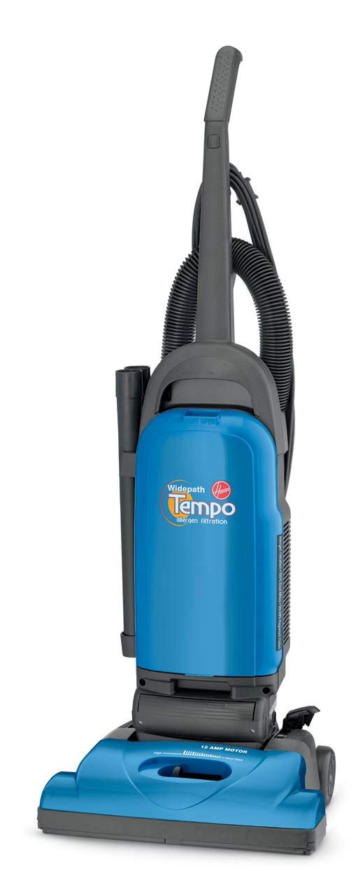 Hoover Vacuum Cleaner Tempo WidePath Bagged Corded Upright Vacuum U5140900