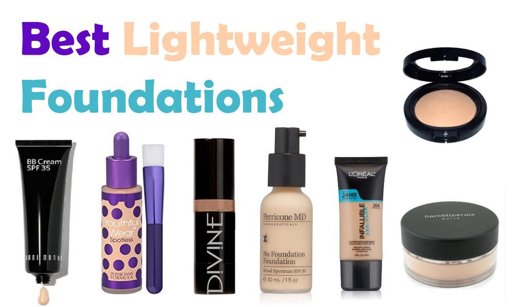 Best Lightweight Foundations