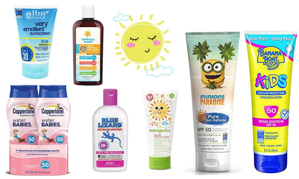 Best Safe Sunscreens for Kids and Babies