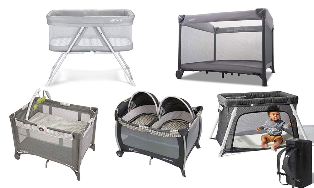 Best and Lightest Travel Cribs for Babies and Toddlers