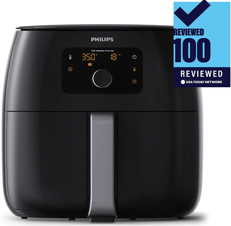 Philips Kitchen Appliances Digital Twin TurboStar Airfryer